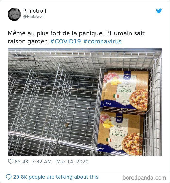 Panic Buying Makanan