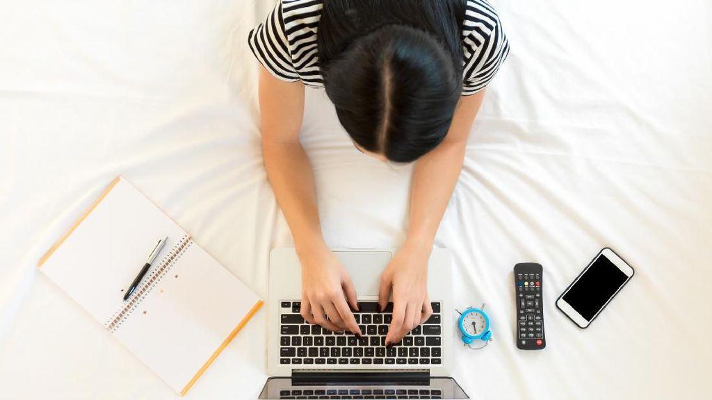 Catat! Ini Efek Samping Terlalu Sering WFH di Atas Tempat Tidur