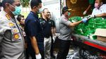 Kapolda Metro Jaya Cek Stok Pangan di Pasar Palmerah
