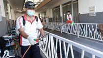 Pemain Diliburkan, Bali United Semprot Mess dengan Disinfektan