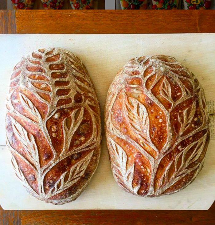 Roti motif cantik