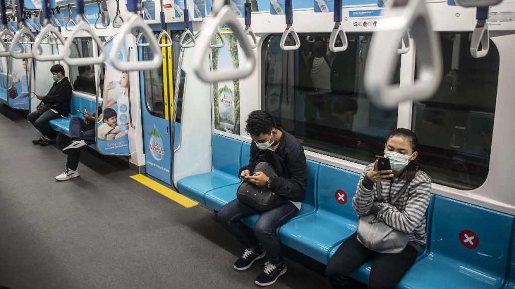 Penumpang MRT Jakarta Tersisa 2.000 Orang per Hari Imbas Corona