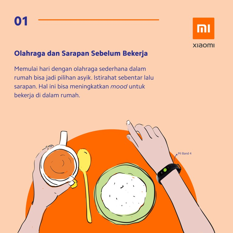 Work From Home Xiaomi