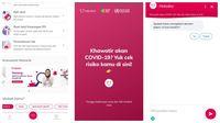 Pantauan detikINET soal aplikasi Halodoc yang digandeng pemerintah untuk cegah penyebaran COVID-19.