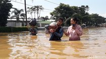Banjir Kabupaten Bandung, Polisi Buka Tutup Jalan Bojongsoang-Baleendah