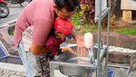 Penyediaan Faslititas Cuci Tangan di Tempat Umum