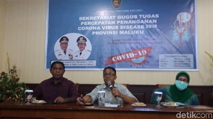 Gugus Tugas Percepatan Penanganan Corona Virus Disease 2019 (COVID-19) Maluku (Muslimin Abbas/detikcom)