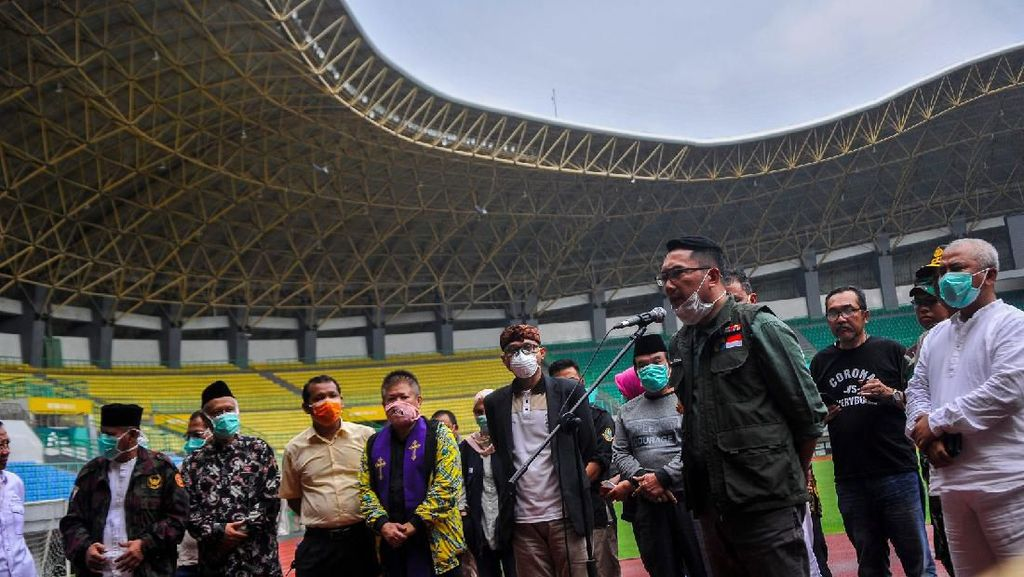 Stadion Patriot Kota Bekasi jadi Lokasi Rapid Test