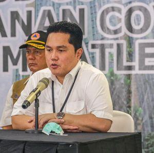 Erick Thohir Blak-blakan Kekuatan BUMN Tangani Pasien Corona