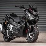 Modifikasi Honda ADV 150 Berjubah Batman