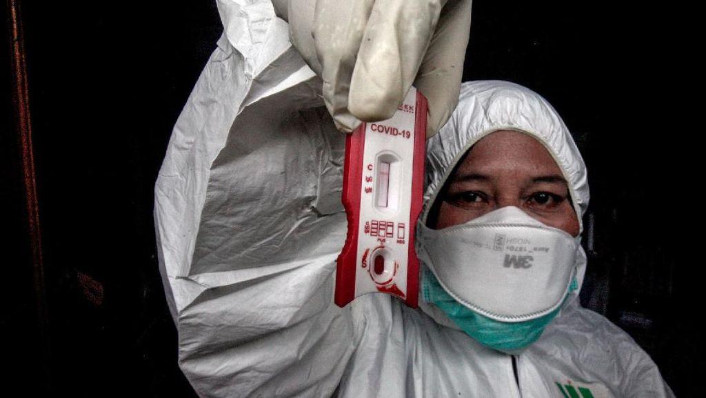 Jemput Bola Rapid Test Deteksi Corona ODP di Bogor