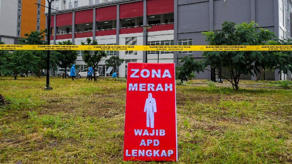 Update RS Darurat Corona Wisma Atlet: Rawat 522 Pasien, 334 Positif