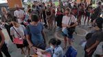 Dibatasi, Begini Potret WNA di Bali Membludak Perpanjang Visa