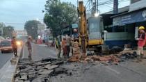 Sempat Retak Akibat Galian Pipa, Jl Sultan Agung Bekasi Kini Sudah Diperbaiki