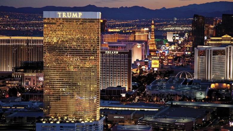 Hotel milik Presiden Trump.