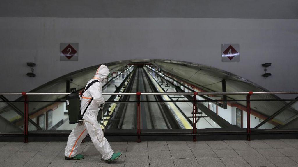 87 Ribu Orang Terinfeksi, Total Kasus Virus Corona di Spanyol Lampaui China