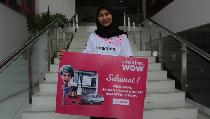 Ikut Undian, Mahasiswi Asal Semarang Ini Bisa Dapat Rumah
