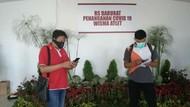 Update RS Corona Wisma Atlet: Rawat 524 Pasien, Positif 274