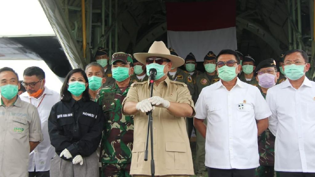 Prabowo Komunikasi dengan Kemhan China untuk Bantuan Alkes