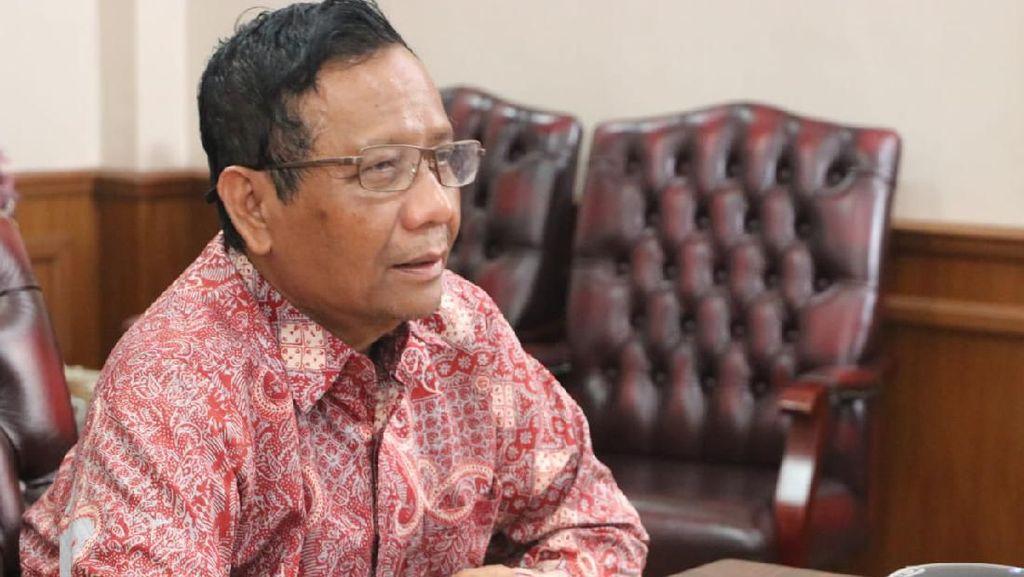 Mahfud Md: Pemerintah Siapkan PP Karantina Wilayah Terkait Corona