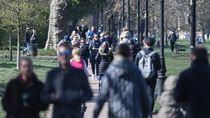 Pandemi Corona: Warga Inggris Masih Banyak yang Asyik Jalan-jalan
