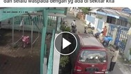 Viral Video Ibu dan Balita Tabrak Pintu Mobil yang Dibuka Tiba-tiba