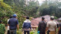 Longsor di 5 Desa Cianjur, Rusak Rumah-Ratusan Warga Mengungsi