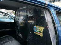 Taksi di China disemprot disinfektan