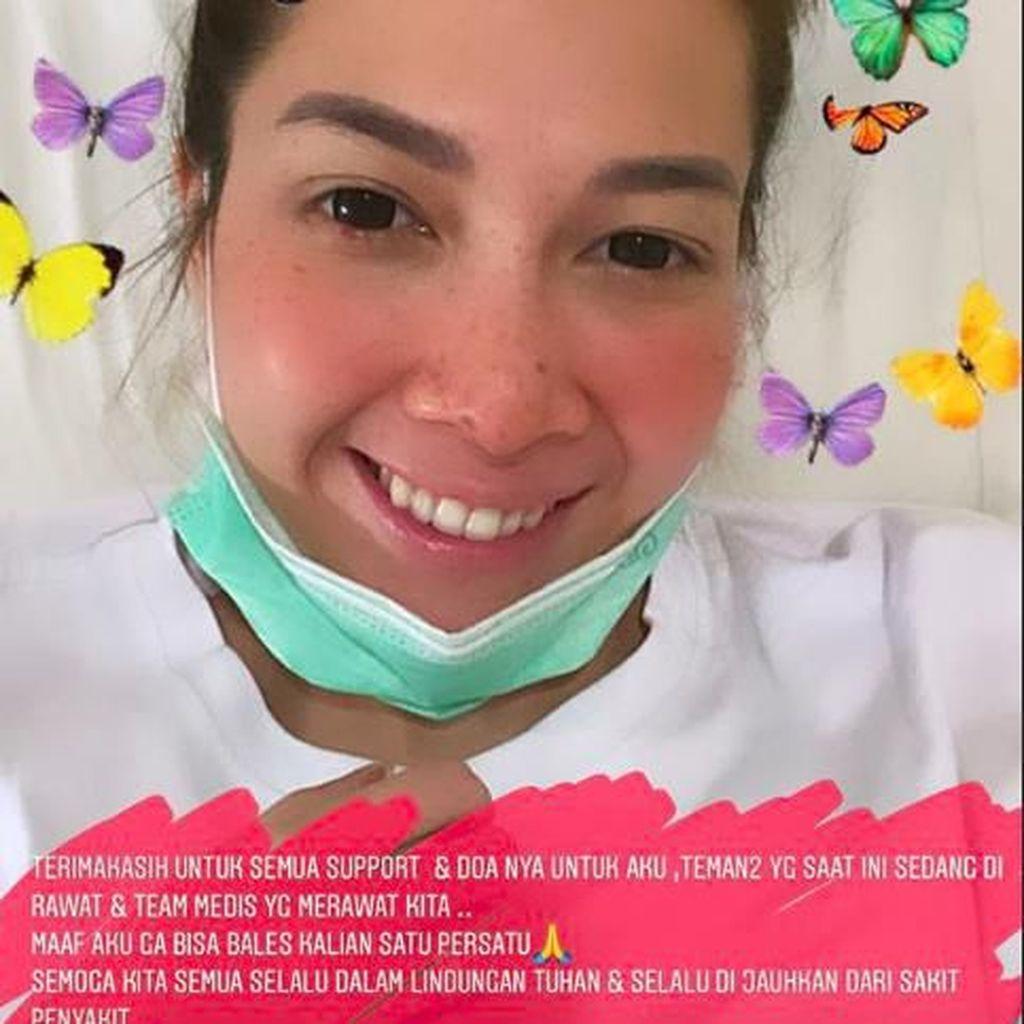 Andrea Dian Bagikan Cerita Pengobatan Corona Termasuk Minum Klorokuin
