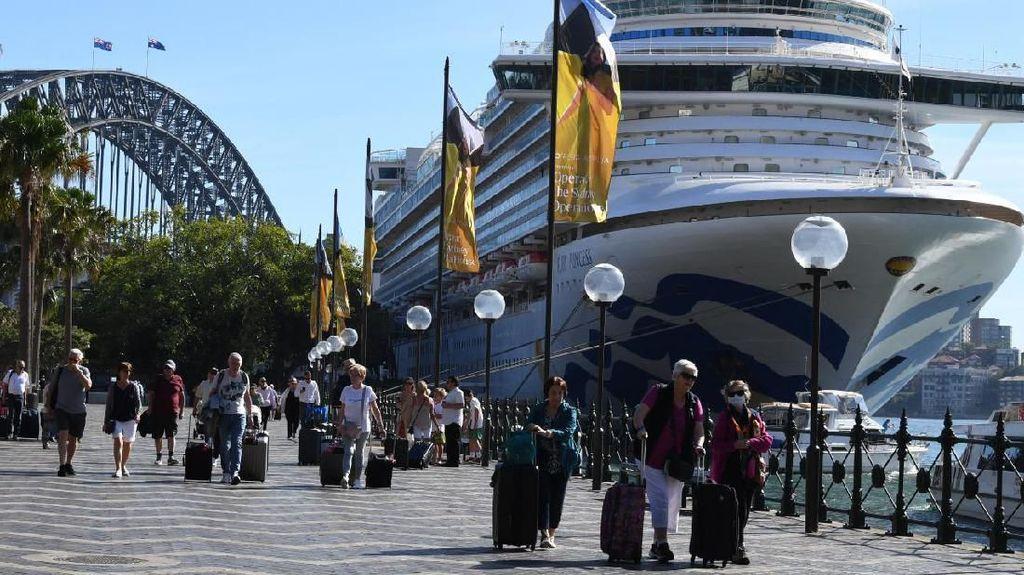Kapal Pesiar Ruby Princess yang Diinvestigasi Australia Tiba di Manila