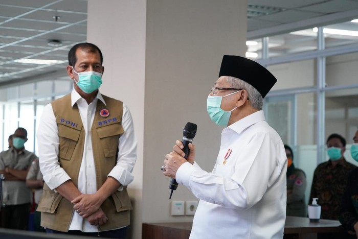 Wakil Presiden (Wapres) Maruf Amin