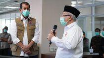 Update! Arahan Maruf Amin saat Soroti Rapid Test Corona DPR-Mudik Lebaran