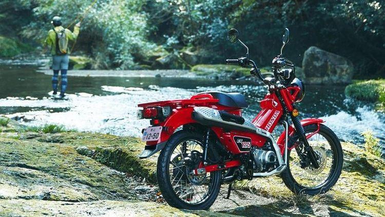 Melihat Lebih Dekat Motor Bebek Petualang Honda yang Tembus Rp 60 Juta