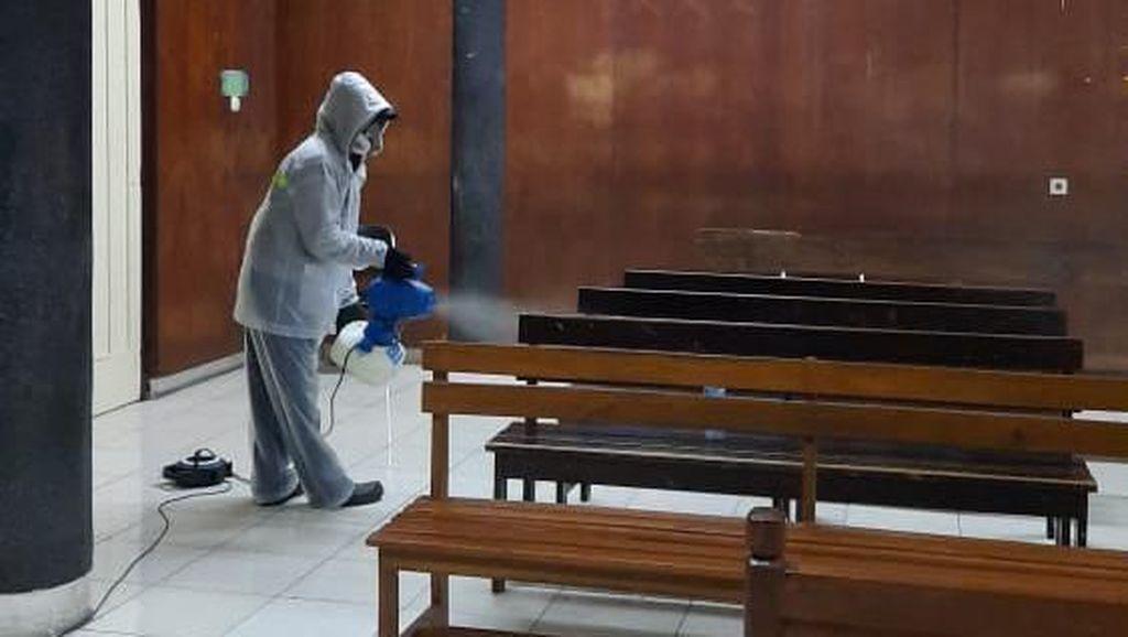 Usai Disemprot Disinfektan, PN Jakut Tata Ulang Jadwal Sidang