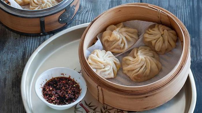 Menu restoran China sehat
