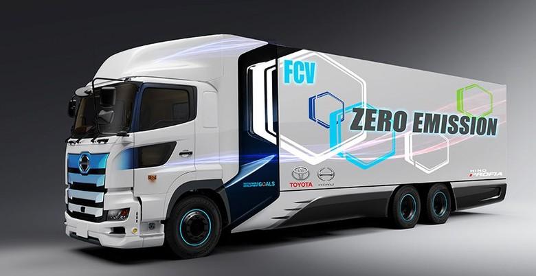 Toyota-Hino Bikin Truk Bertenaga Hidrogen