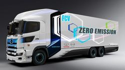 Toyota-Hino Garap Truk Bertenaga Hidrogen