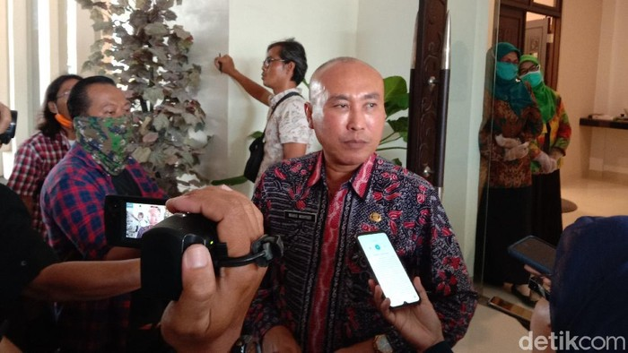 Kepala Dinas Pendidikan Jawa Timur Wahid Wahyudi