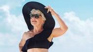 Foto: Nenek 73 Tahun yang Bikin Iri Karena Punya Body Goals