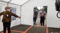 Cegah Corona Masuk, Kementan Pasang Empat Disinfektan Booth