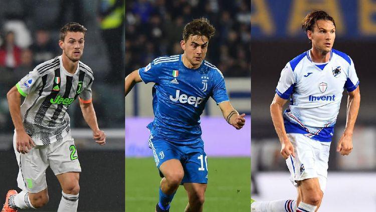 Dybala hingga Matuidi, Ini Deretan Bintang Serie A yang Positif Corona
