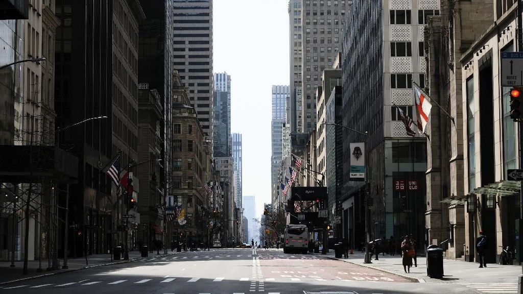 New York, The City That Never Sleeps Berhibernasi karena Corona
