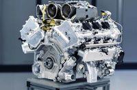 Mesin V6 hybrid Aston Martin
