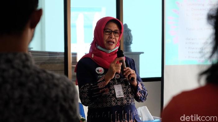 Kepala Dinas Kesehatan Kota (DKK) Solo, Siti Wahyuningsih