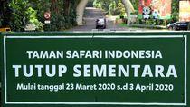 Taman Safari Bogor Resmi Ditutup Sementara