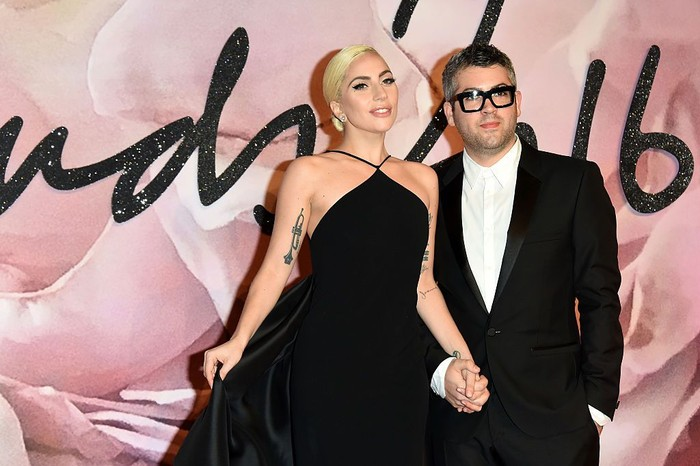 LONDON, ENGLAND - DECEMBER 05:  Singer Lady Gaga and desginer Brandon Maxwell attend The Fashion Awards 2016 on December 5, 2016 in London, United Kingdom.  (Photo by Stuart C. Wilson/Getty Images)