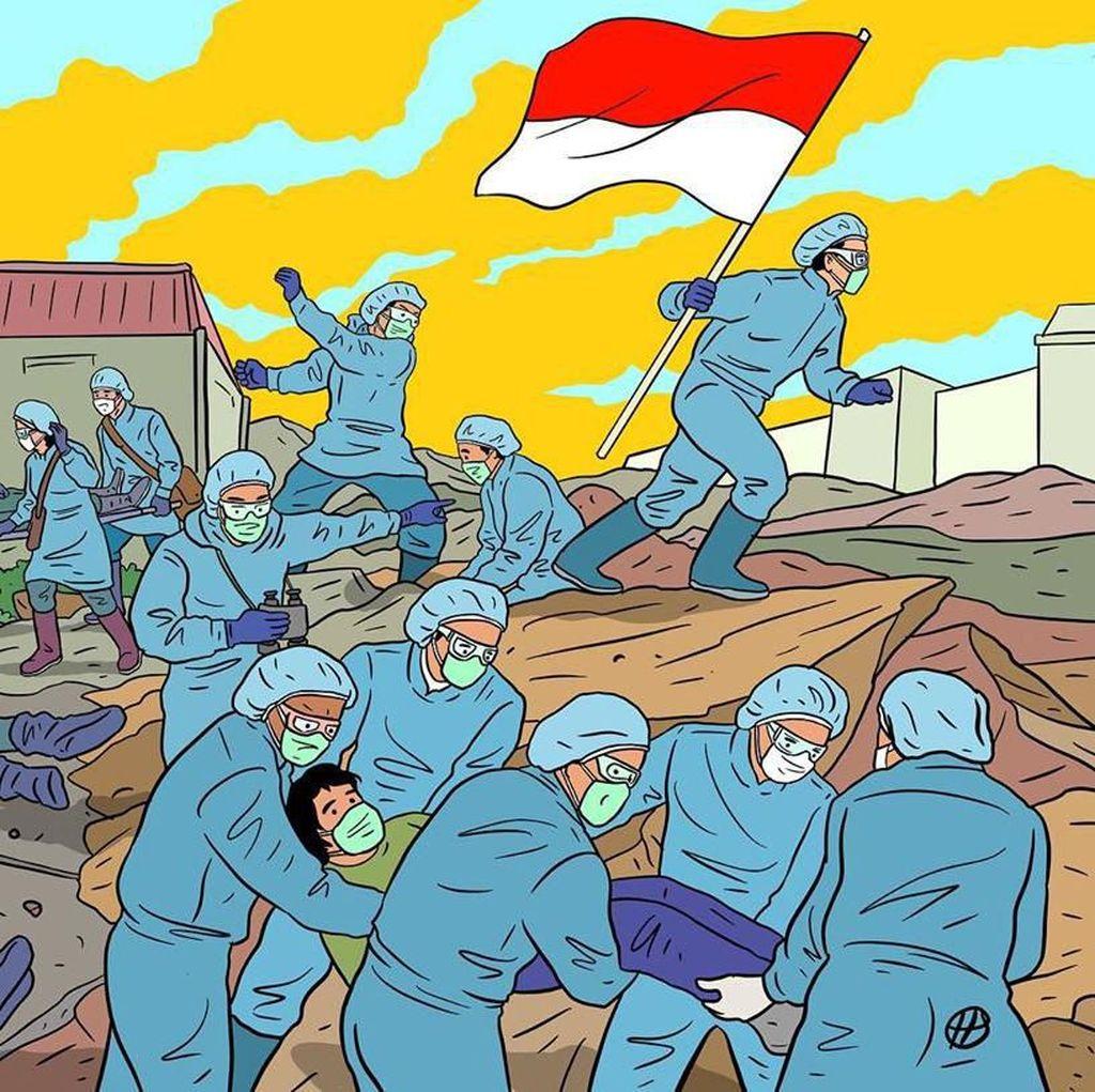 Hari Prast Gambarkan Pejuang Tenaga Medis Lawan Corona Bak Medan Perang