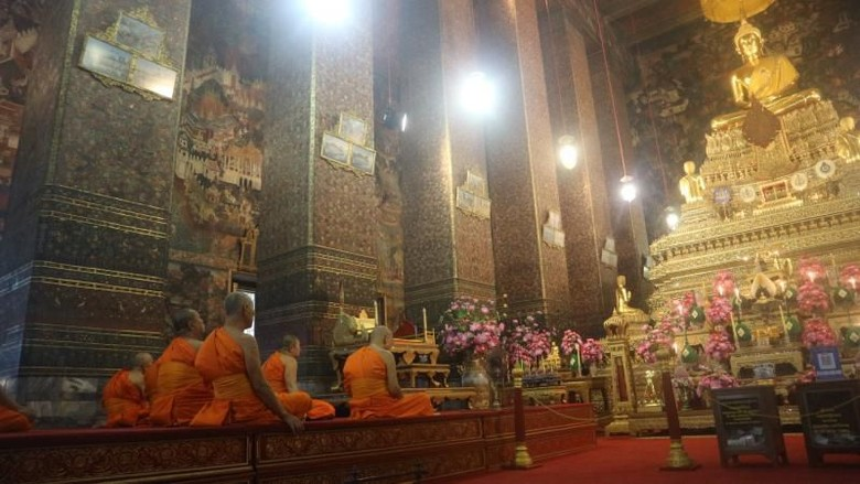 Kuil terkenal di Thailand