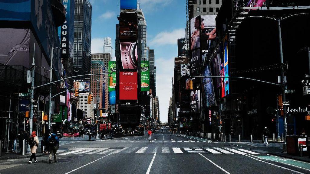 Kota New York yang Akhirnya Tidur karena Corona