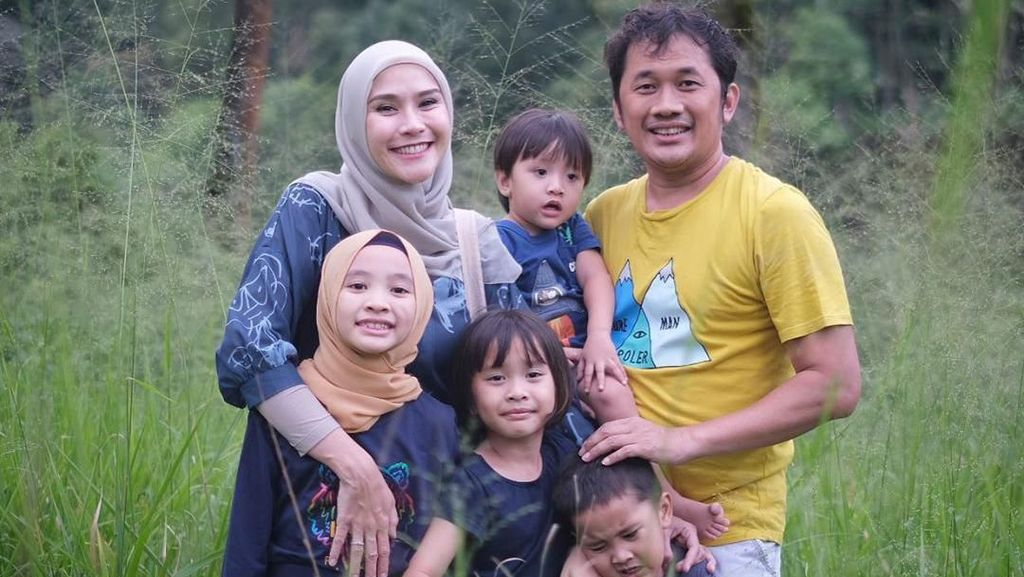 Di Rumah Aja Imbas Corona, Anak-Anak Zaskia Adya Mecca Jadi Jarang Sakit